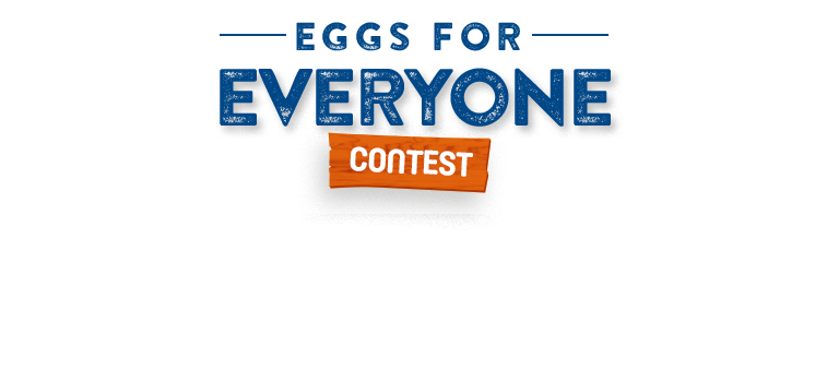 The #eggsforeveryone contest. Enter now to win 1 of 5 gifts baskets ($250 ARV)
